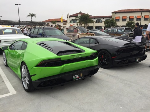 Ronnie's UGR Huracan and Steve's Advan GT'd Huracan